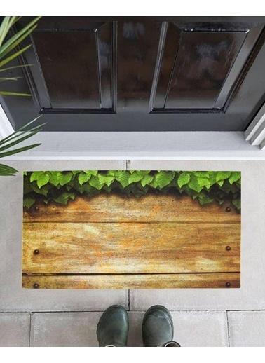 Giz Home Mozaik Kapı Paspası 45X75 Sarmaşık Renkli